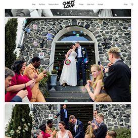Onlinegalerie mit Hochzeitsfotos